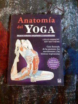 Libro Anatomía del Yoga