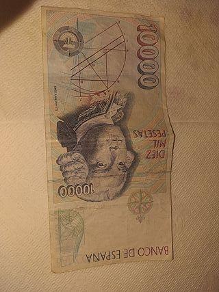 Billete 10 mil pesetas