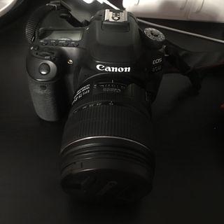 Canon 80D + Objetivo 15-85mm