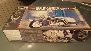 Maqueta Oficial Harley Davidson Electra Glide