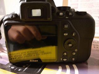 Camara Nikon D3500, Objetivo 18-55