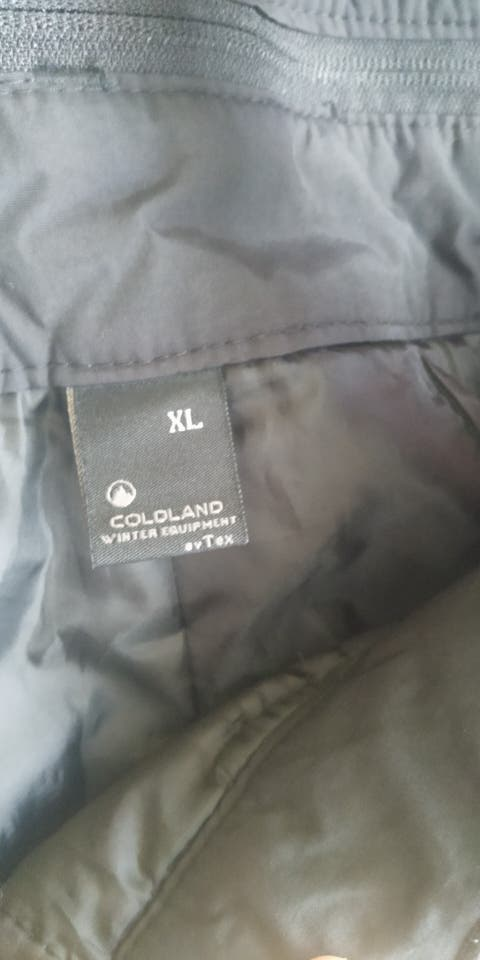 pantalón nieve XL