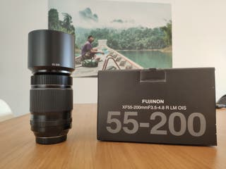 Fuji Fujifilm Fujinon 55-200 + filtro Gobe