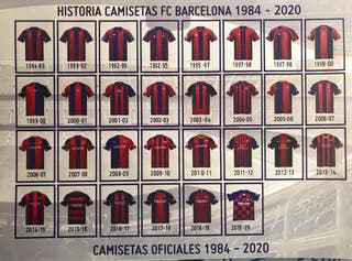 Camisetas F C Barcelona