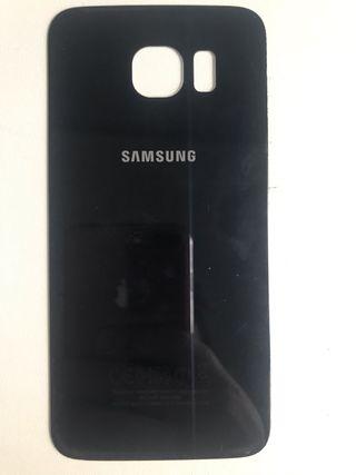 Tapa trasera Samsung S6 (azul oscuro)