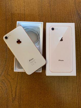 iPhone 8 gold,64 gb