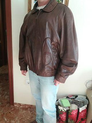 Chaqueta Cuero artesanal