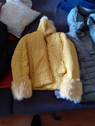 abrigos con pelusa himpermiables nuevas