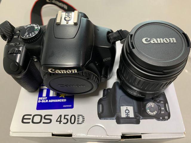 Objetivo Canon EFS 18-55