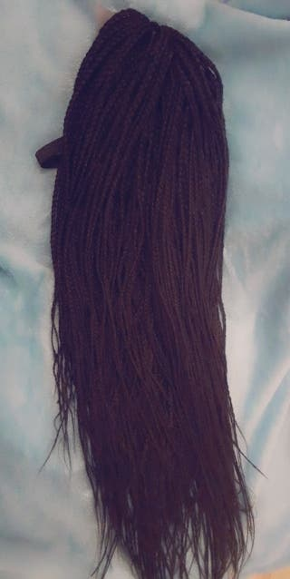 handmade braided wig