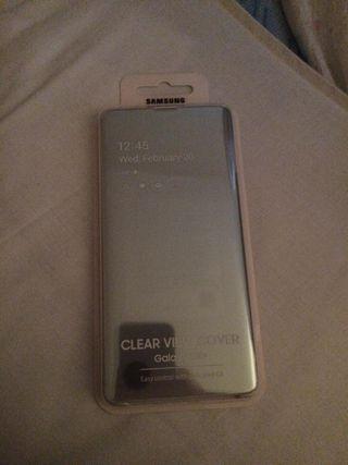 Funda Clear View Cover Samsung Galaxy S10+