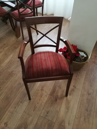 sillones o sillas con brazos
