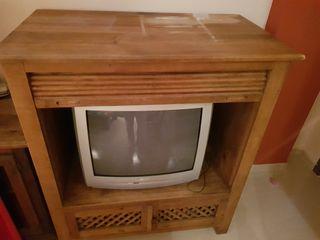 Mueble TV con corredera