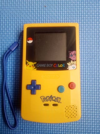 NINTENDO GAMEBOY COLOR POKEMON PIKACHU EDITION