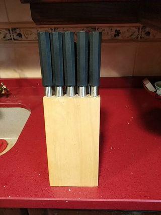 Set cuchillos japoneses nuevos