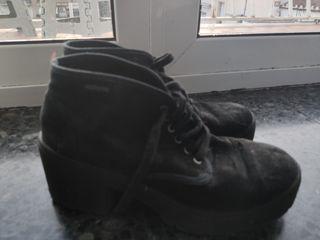 Botas de medio tacón