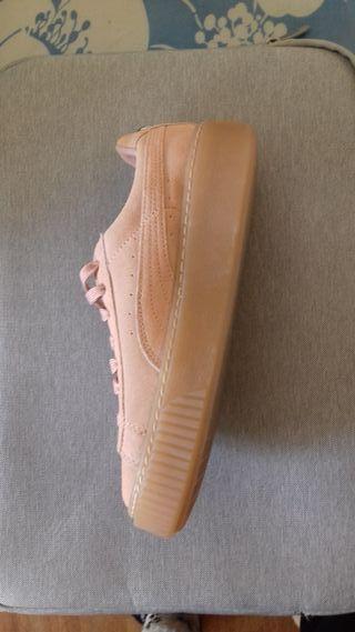Zapatillas Puma Suede para mujer. Talla 37.5