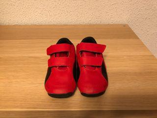 Zapatillas puma bebé edición limitada ferrari