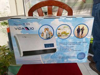 Generador de ozono y aniones Ozono plus VIDA 10