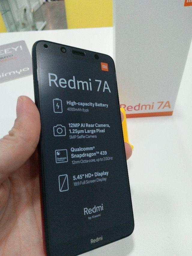 móvil nuevo Xiaomi rojo gradiente