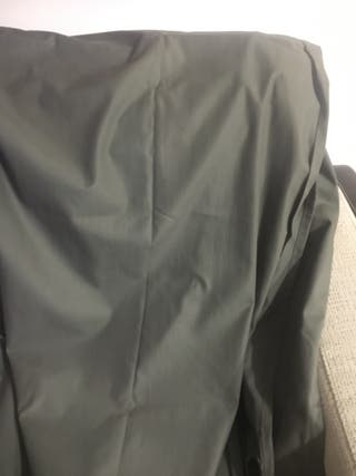 Cortina gris plomo de IKEA
