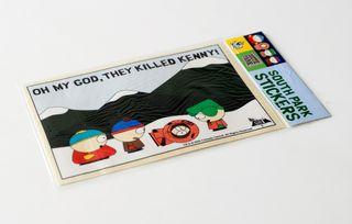 Pegatina sticker South Park. Oh my god, they...