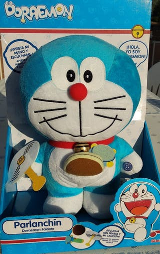Peluche Doraemon parlanchín