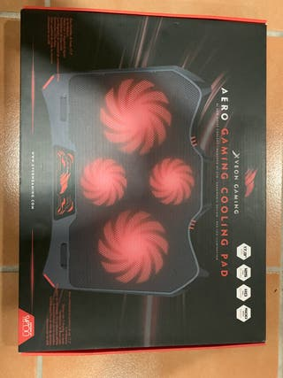 Base refrigeradora portátil Aero Gaming Cooling Pa