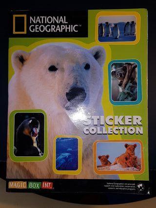 Álbum de cromos National Geographic