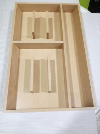 Cubertero de madera