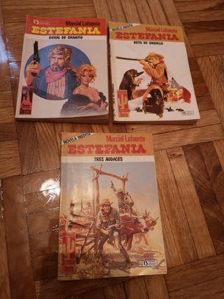Lote novelas del oeste