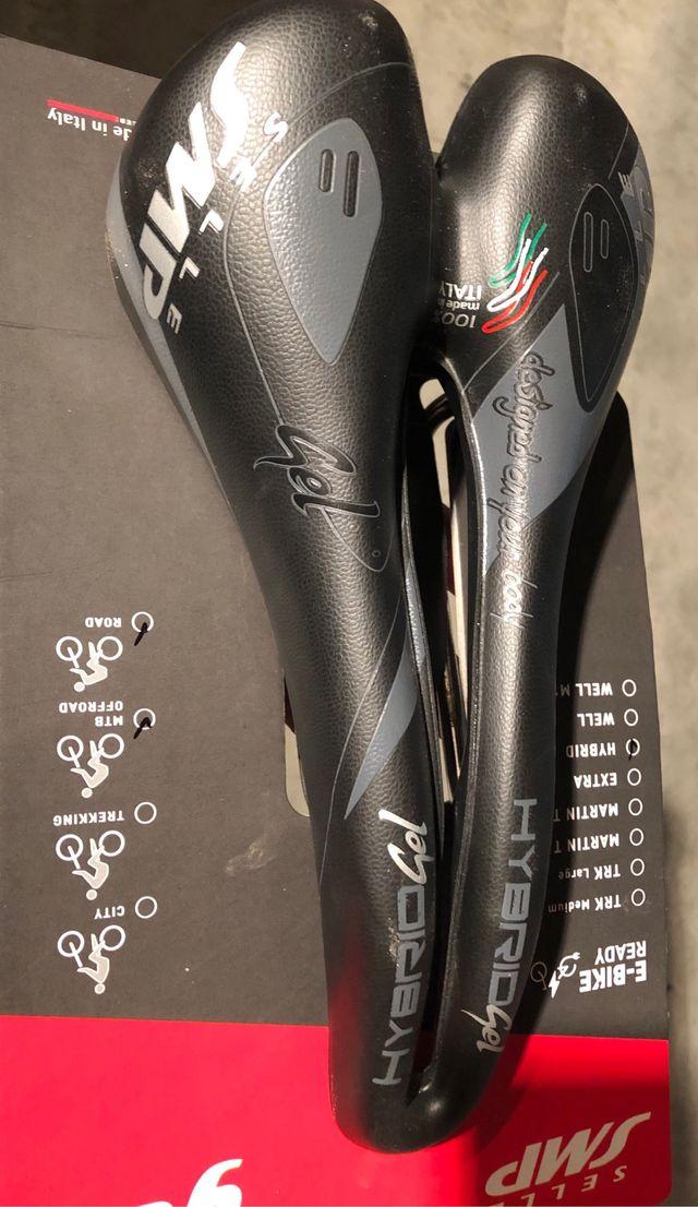 Selle SMP gel. Sillín bici