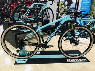 Bicicleta BTT Bianchi Methanol CV S talla M