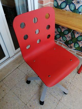 silla giratoria ruedas escritorio oficina