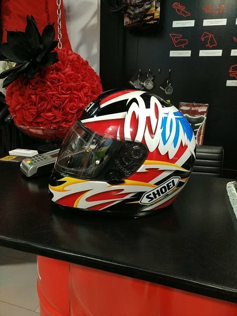 casco shoei xr-800 alex criville
