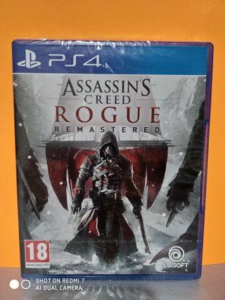 Assassin's Creed Rogue remastered(precintado)PS4