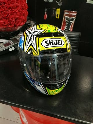 casco shoei x-spirit toni elias