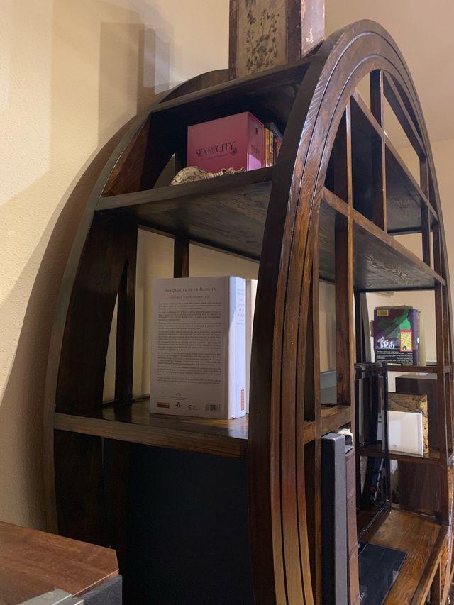 Mueble redondo para TV