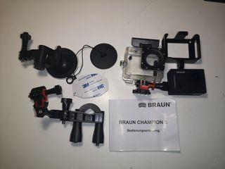 Cámara de acción Braun Champion II WIFI