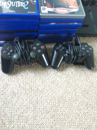 PlayStation 2 Console Bundle (38 games)
