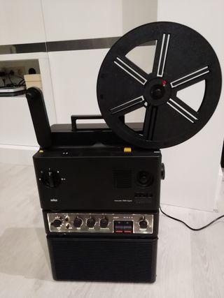 Proyector Súper 8 Braun Visacustic 2000 digital