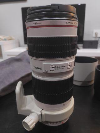 Objetivo Canon larga distancia