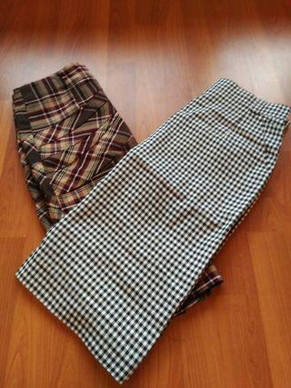 lote faldas tubo