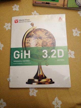 libro de geografía y historia 3.2D