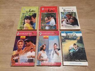 Novelas románticas Harlequín
