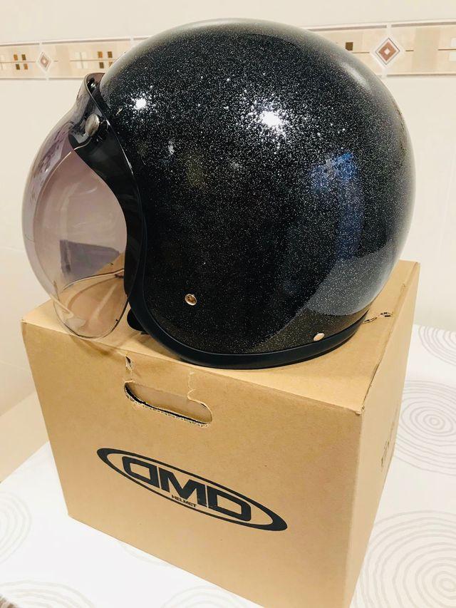 ¡OFERTA!Casco Moto Jet DMD