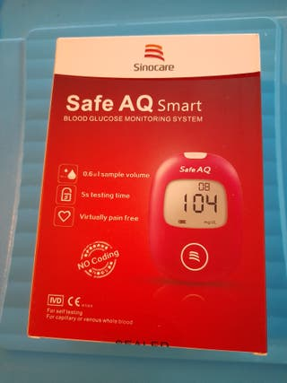 Glucosa en sangre kit de control de la diabetes