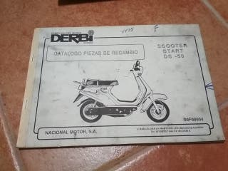 catalogo recambio Derbi original