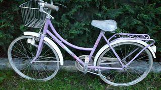 bicicleta paseo. Antigua.