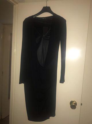 Vestido negro fiesta